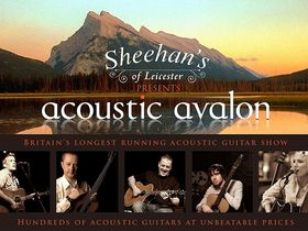 Acoustic Avalon 2011 guitar show this weekend