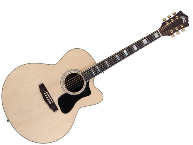 The F-150RCE (MSRP £1,258.80), like the F-150R, features rosewood back, sides, fingerboard and neck, but has an onboard Fishman Sonitone pickup system built-in.