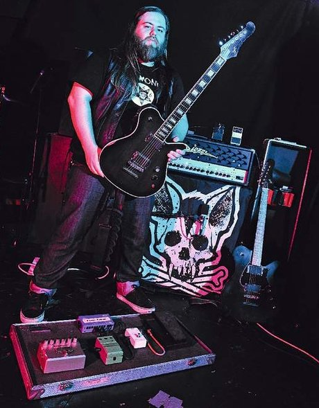 Cancer bats guitarist scott middleton gear list - guitar and amplifier