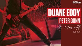 Duane Eddy 'Peter Gunn' lesson (TG216)