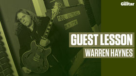 Warren Haynes Guest Lesson (TG222)