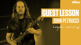 John Petrucci's 'Ultimate Warm-Up' Guest Lesson (TG226)