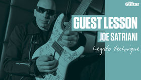 VIDEO: Joe Satriani Guest Lesson (TG235)