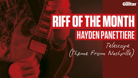 Riff Of The Month: Hayden Panettiere - Telescope (TG240)