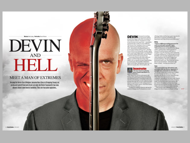 Devin Townsend: A Man Of Extremes