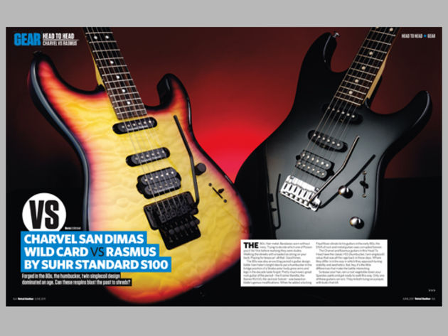 Head to head: Charvel VS Rasmus