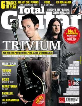 TG219: Trivium – New attitude, new guitars
