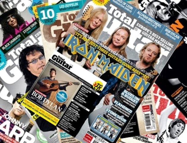 Where to buy total guitar magazine