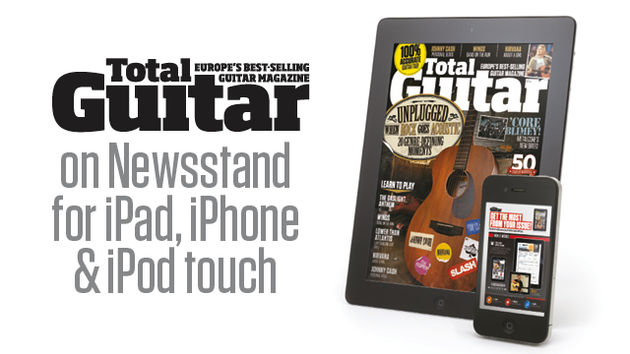 Total Guitar £FREE app (from £2.49 per issue)
