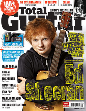 Total Guitar 230 On Sale Now: Ed Sheeran, exclusive guitar interview