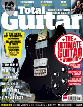 Total Guitar Magazine Issue 238: The Ultimate Guitar Workout
