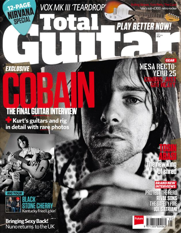Total Guitar 253: Kurt Cobain