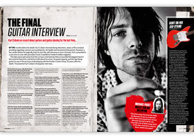 Total Guitar 253 on sale now: Kurt Cobain, the final guitar interview