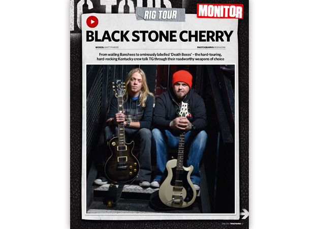 Rig Tour: Black Stone Cherry show us around their live setups