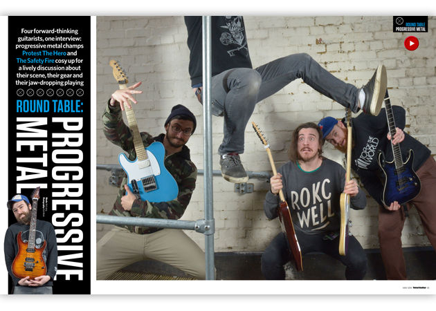 Protest The Hero & The Safety Fire talk prog metal. Plus, PTH teach you their favourite riffs!