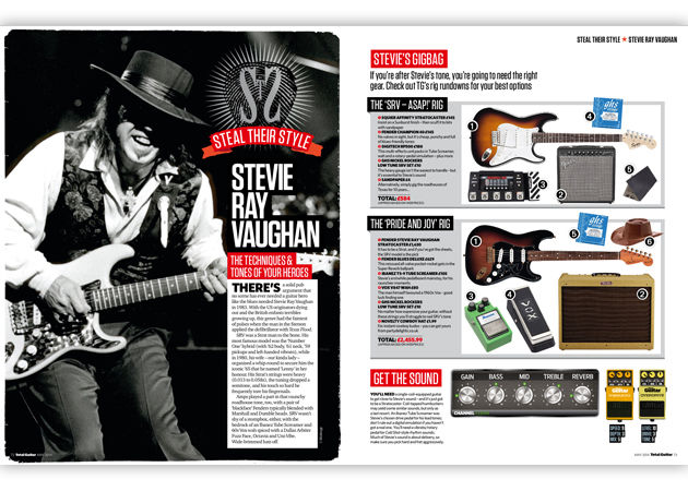 Play like Stevie Ray Vaughan!