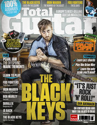 Total Guitar 231 On Sale Now: The Black Keys' Dan Auerbach