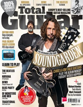 TG236 on sale now: Soundgarden's Chris Cornell and Kim Thayil