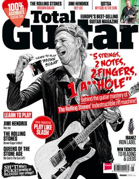 Total Guitar issue 243 on sale now: Keith Richards, Peace, Bosnian Rainbows and more!