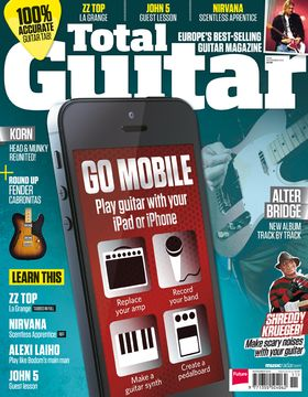 Total Guitar 246 on sale now: Go Mobile with your guitar!