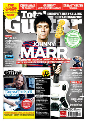 TG206: Exclusive! Johnny Marr talks guitar-playing career