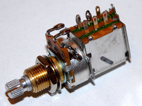 push pull potentiometer