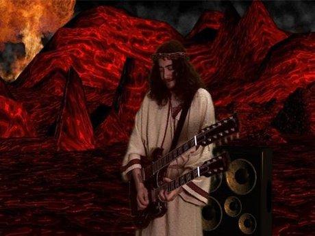 Tenacious d guitarist john konesky blog - hell