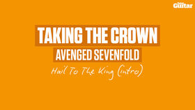 VIDEO: Avenged Sevenfold - Hail To The King intro (TG245)