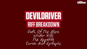 VIDEO: How to play four riffs from DevilDriver's 'Winter Kill' album (TG249)