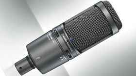MusikMesse 2013: Audio-Technica AT2020USB+ Cardioid Condenser Microphone