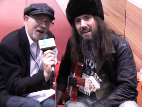 NAMM 2012 VIDEO: Guns N' Roses guitarist Ron 'Bumblefoot' Thal interviewed