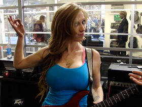 NAMM 2012 VIDEO: Peavey AT-200 Auto-Tune guitar