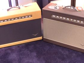 NAMM 2013 VIDEO: Magnatone Amps demostrated