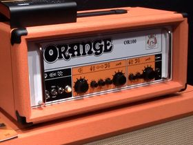 NAMM 2013 VIDEO: Orange OR100 amp demo