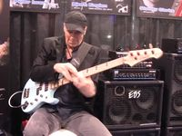 NAMM 2013 VIDEO: Billy Sheehan demonstrates his EBS Signature Drive pedal
