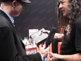 NAMM 2013 VIDEO: Orange VT1000 Valve Tester explained