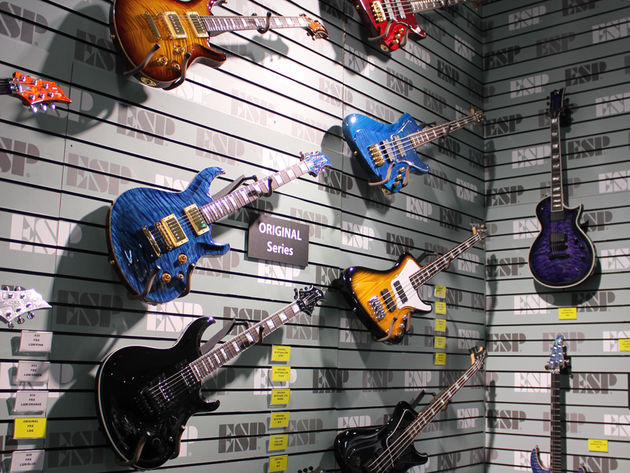ESP at NAMM 2014