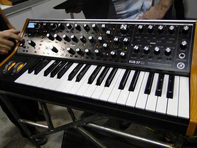 Le 'nouveau' Moog Sub 37
