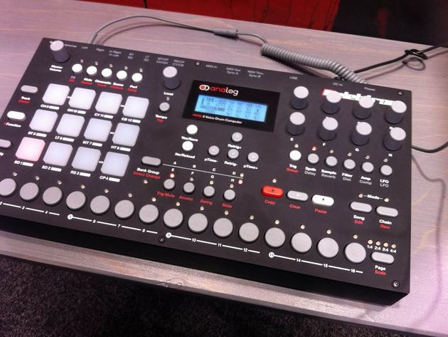 Hands-on with the Elektron Analog Rytm