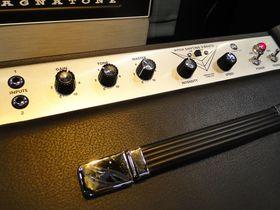 NAMM 2014: Magnatone amps booth in pictures