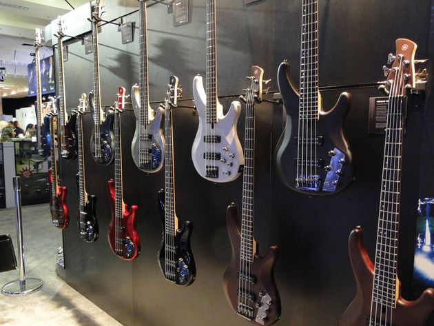 NAMM 2014: Yamaha booth in pictures – basses