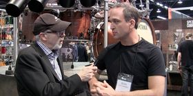 NAMM 2014 video: Sean Paddock talks session drumming and touring with Kenny Chesney