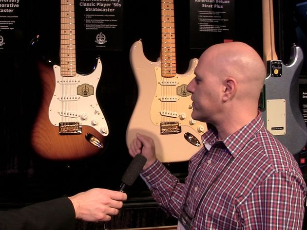 Fender 60th Anniversary Commemorative Strat video