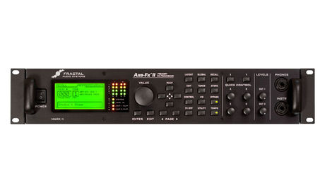 The Axe-FX II is now into its fourth iteration