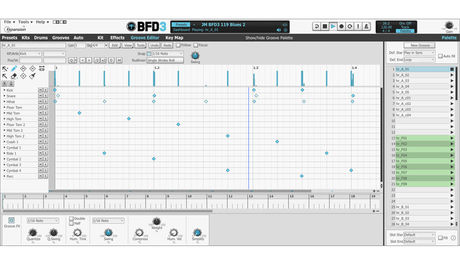 BFD3 also provides a powerful built-in environment for pattern creation and editing