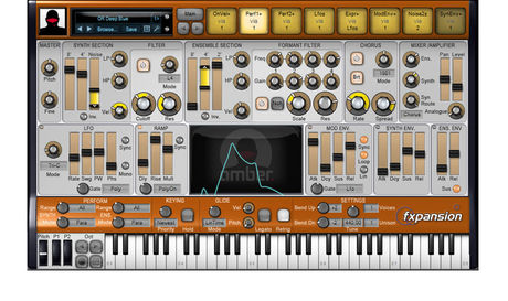DCAM Amber synth