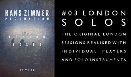 Spitfire Audio Hans Zimmer Percussion #3: London Solos