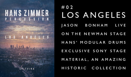 Spitfire Audio Hans Zimmer Percussion #2: Los Angeles