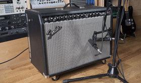 Fender amp mic'd